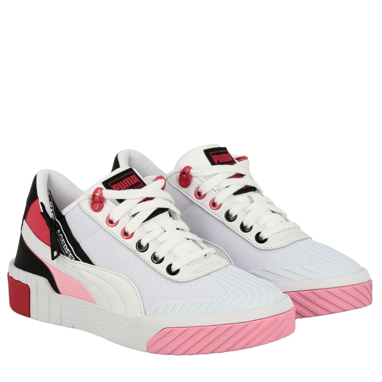 Shoes women Puma X Karl Lagerfeld white 2