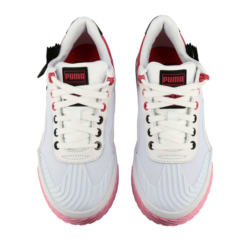 Shoes women Puma X Karl Lagerfeld white 3