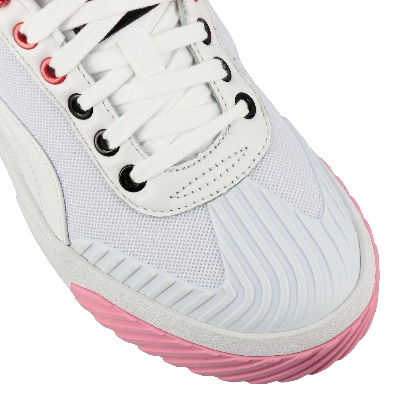 Shoes women Puma X Karl Lagerfeld white 4