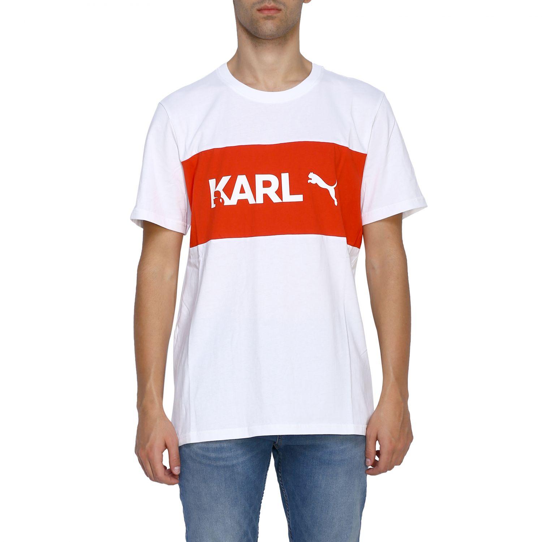 T-shirt homme Puma X Karl Lagerfeld