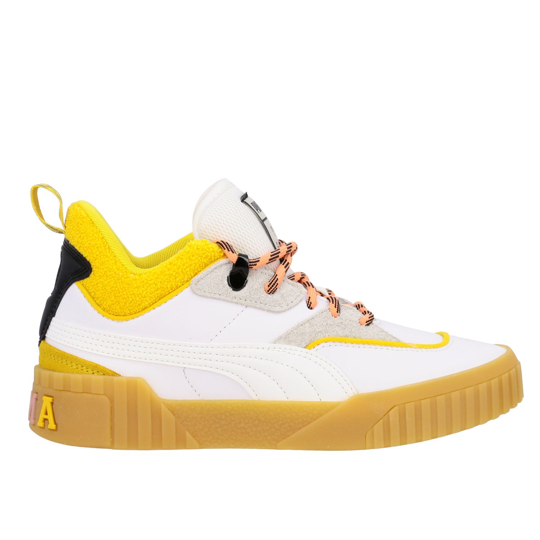 Schuhe damen Puma weiß 1