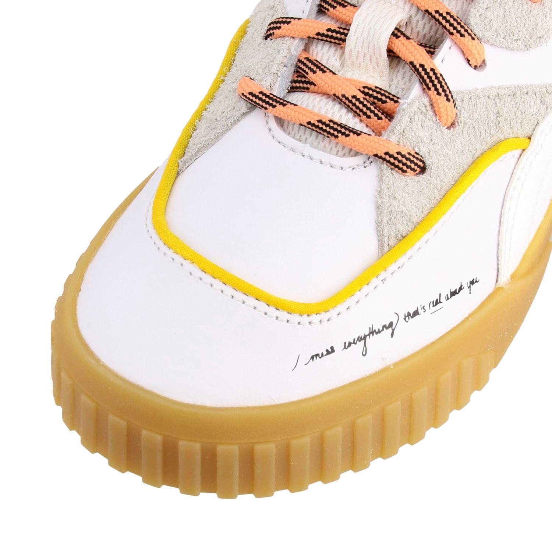 Schuhe damen Puma weiß 4