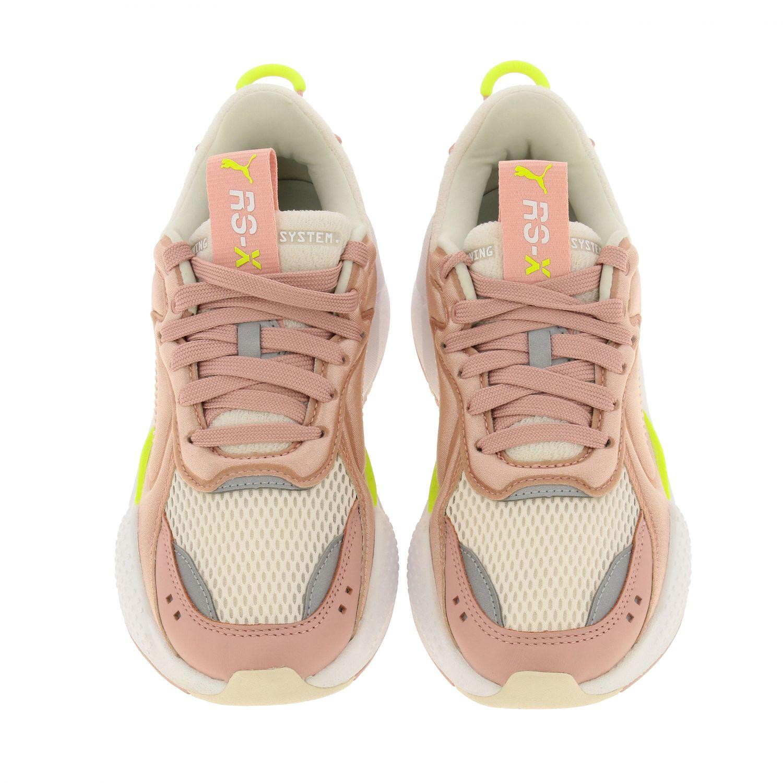 chaussures femme puma rose