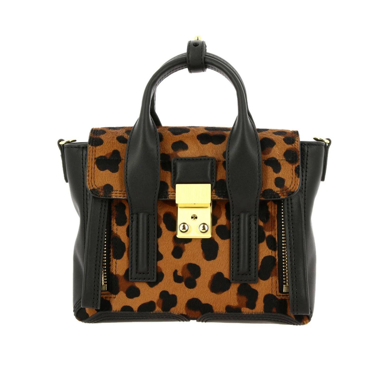 Мини-сумка 3.1 Phillip Lim: Наплечная сумка Женское 3.1 Phillip Lim черный 1