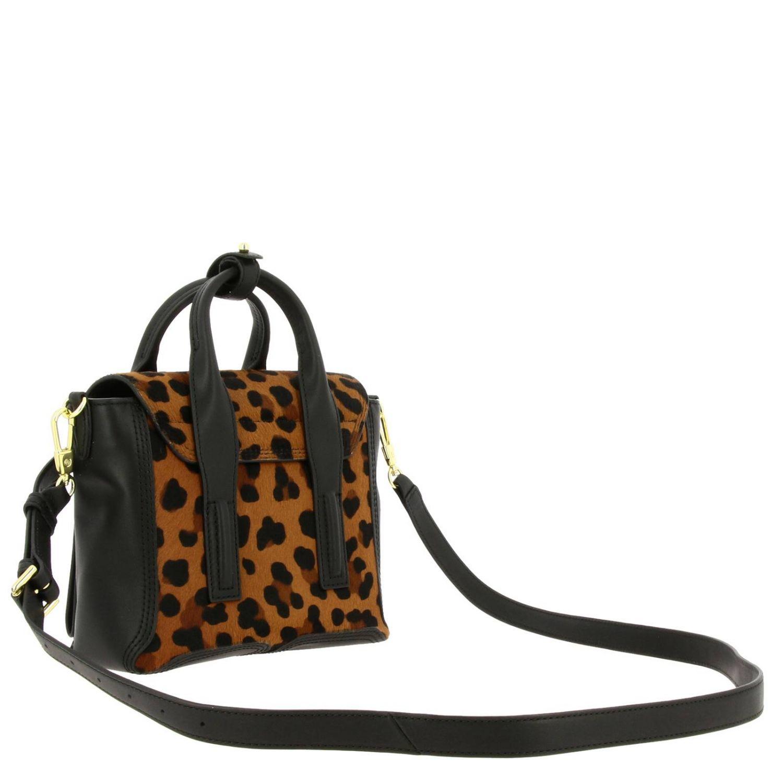 Мини-сумка 3.1 Phillip Lim: Наплечная сумка Женское 3.1 Phillip Lim черный 3