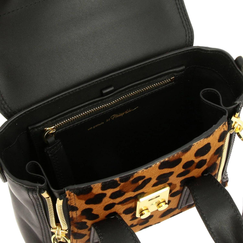 Мини-сумка 3.1 Phillip Lim: Наплечная сумка Женское 3.1 Phillip Lim черный 5