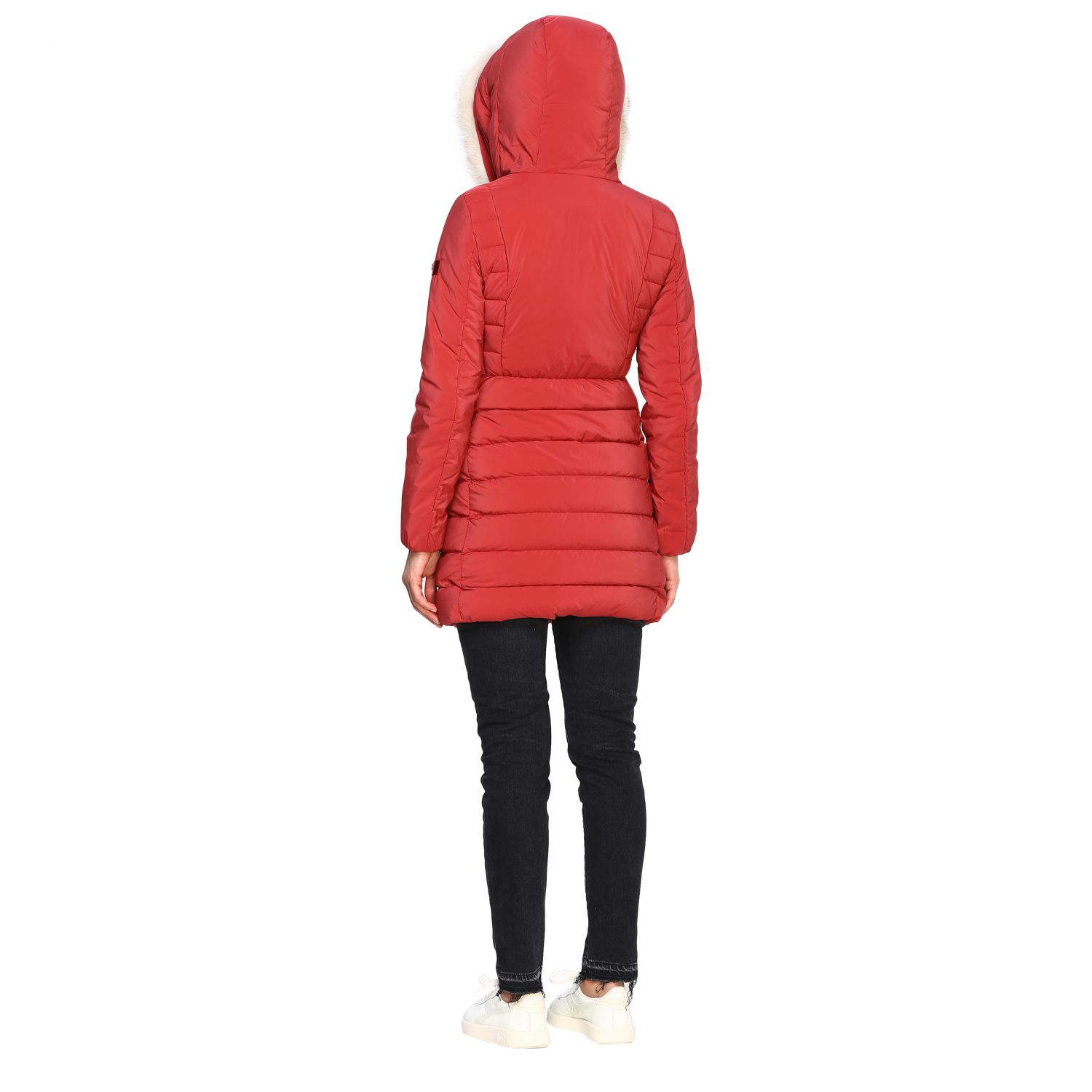 Jacket women Peuterey burgundy 3