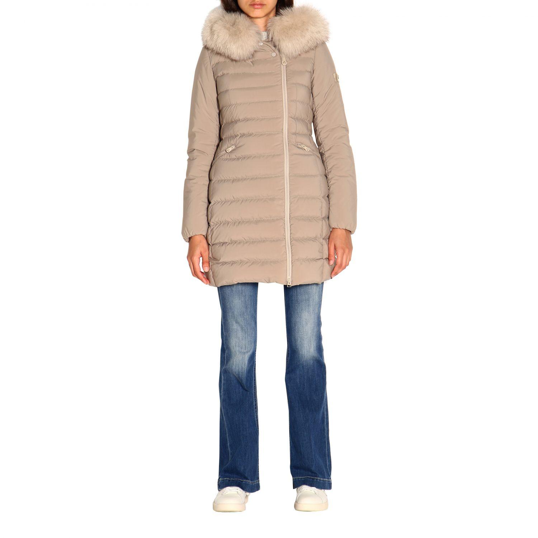 Jacket women Peuterey dove grey 1