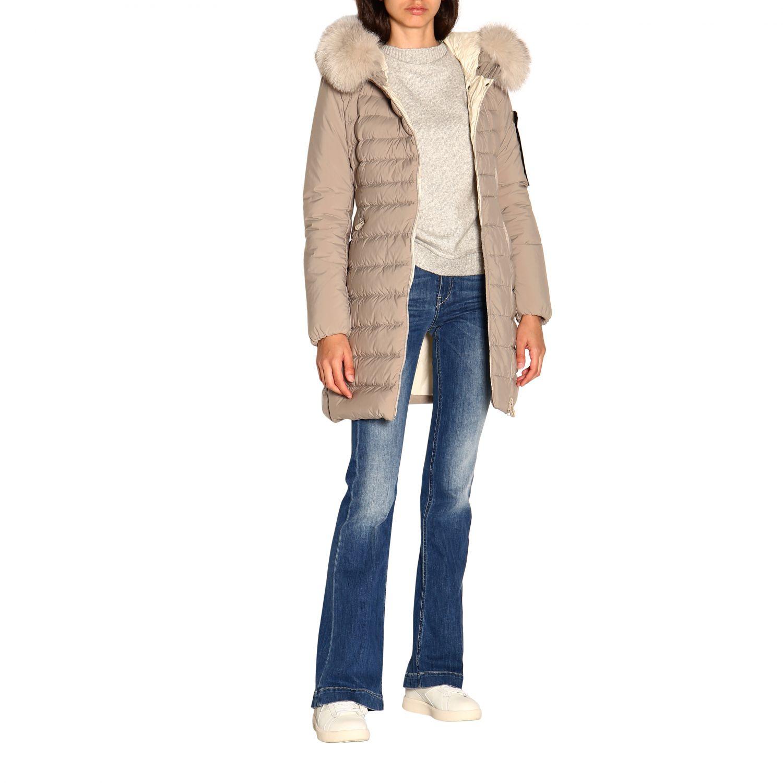 Jacket women Peuterey dove grey 2