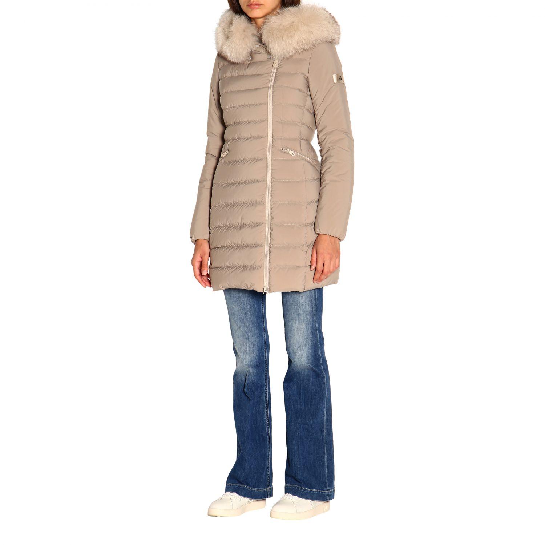 Jacket women Peuterey dove grey 4