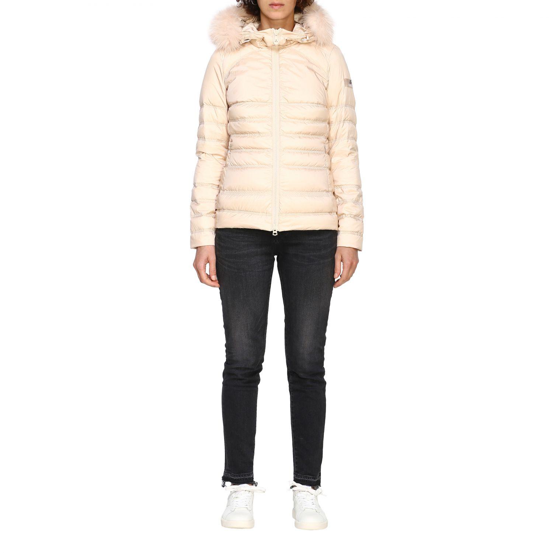 Jacket women Peuterey blush pink 1