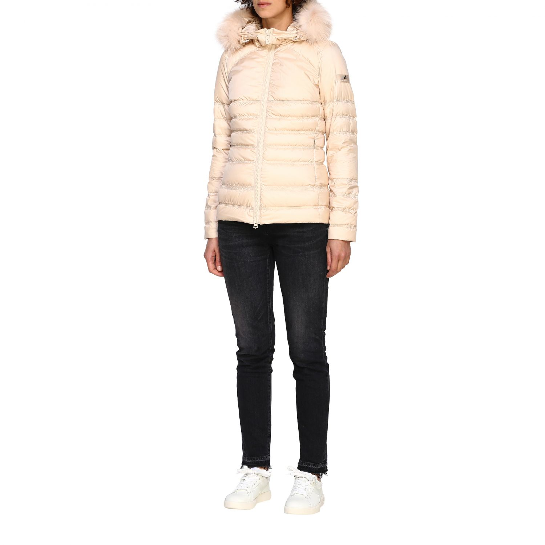 Jacket women Peuterey blush pink 4