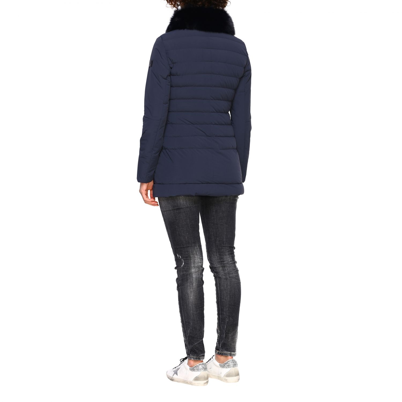 Chaqueta mujer Peuterey azul oscuro 3