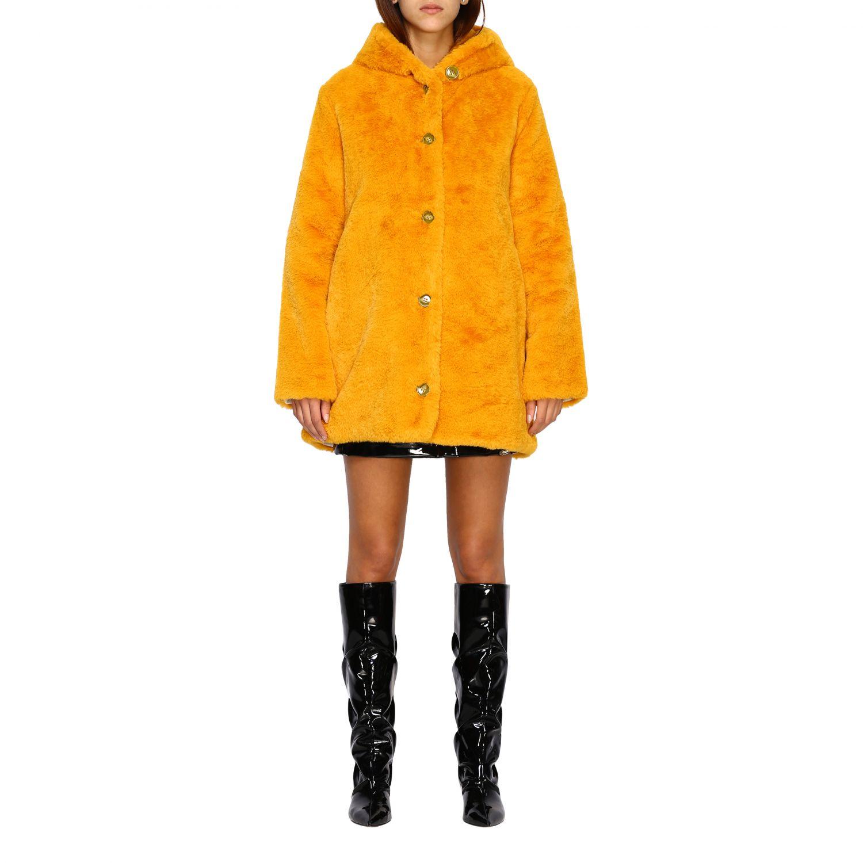 Jacke damen Oof Wear mustard 1