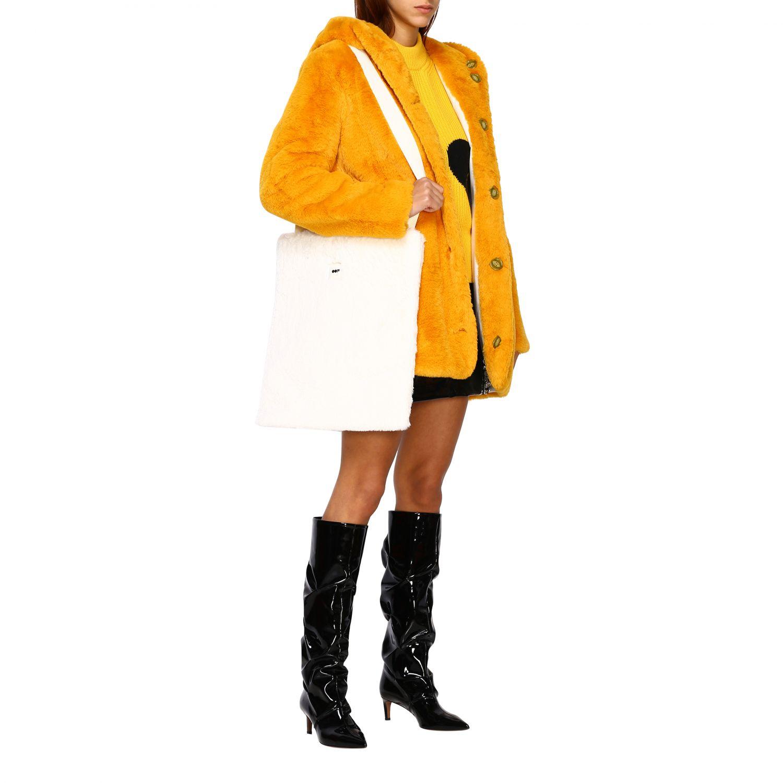 Jacke damen Oof Wear mustard 2