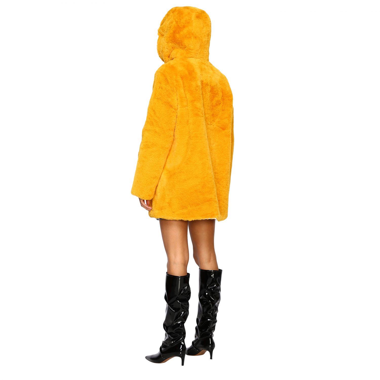 Jacke damen Oof Wear mustard 3