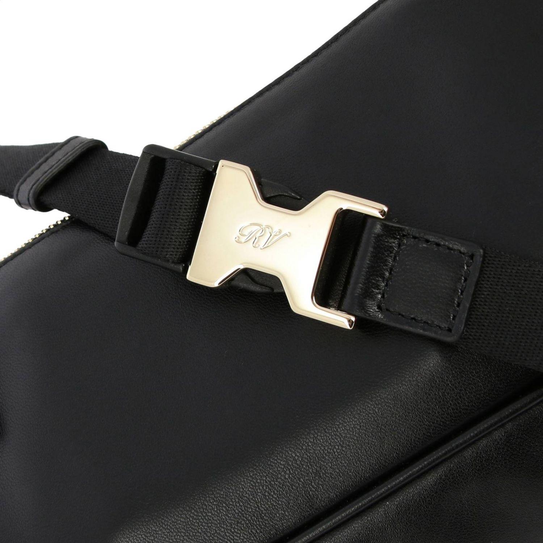 Bolso de hombro mujer Roger Vivier negro 4