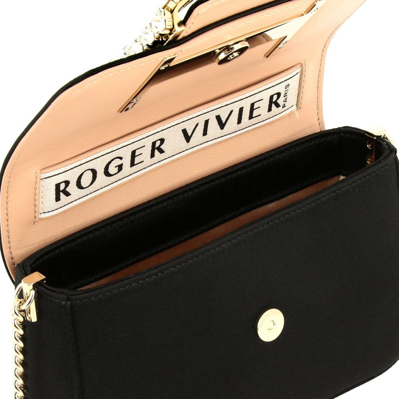 Shoulder bag women Roger Vivier black 5