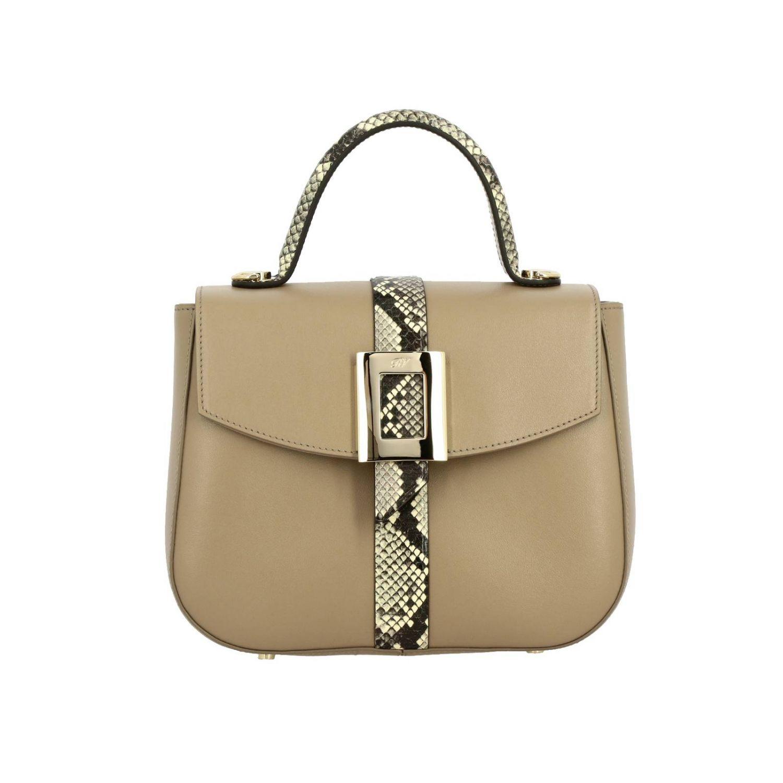 Shoulder bag women Roger Vivier beige 1