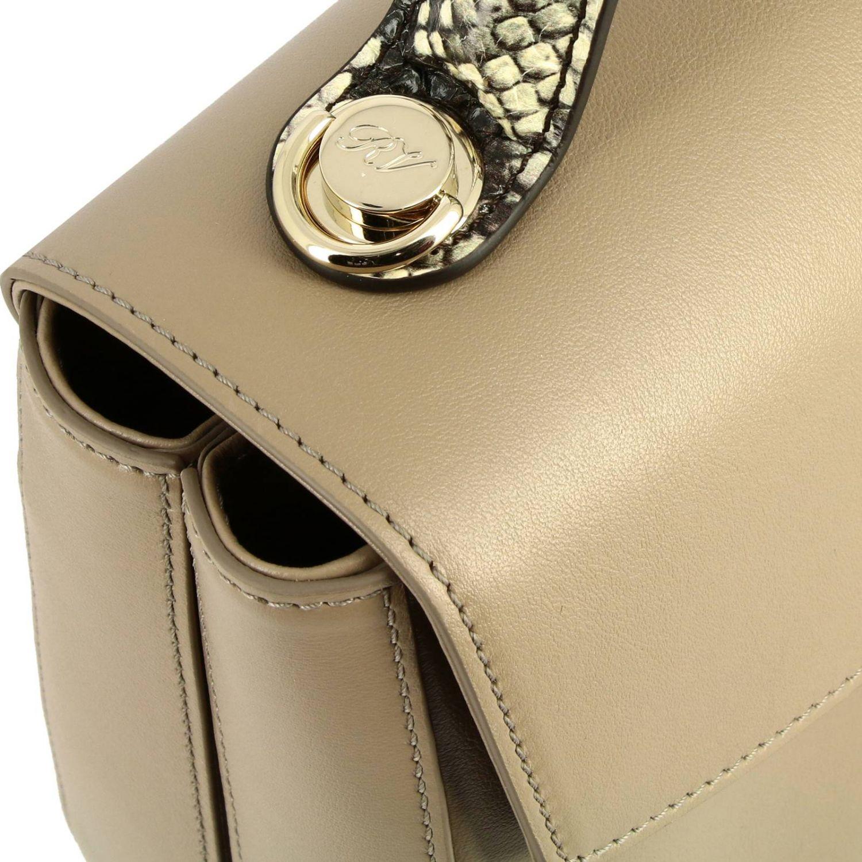 Shoulder bag women Roger Vivier beige 4