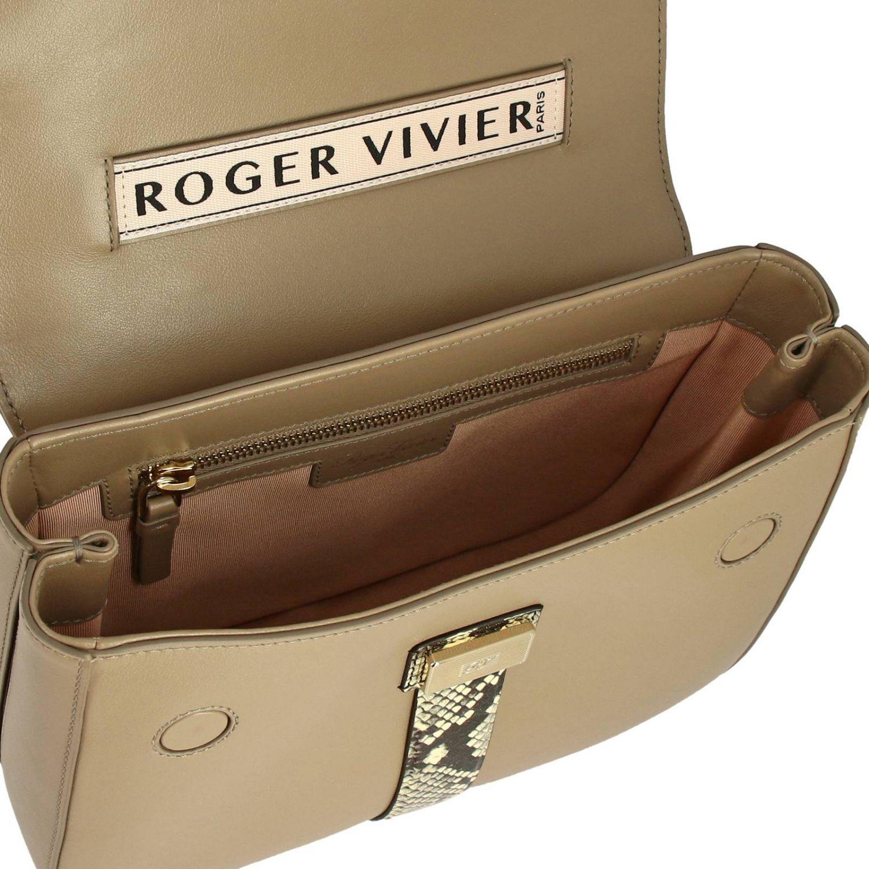 Shoulder bag women Roger Vivier beige 5