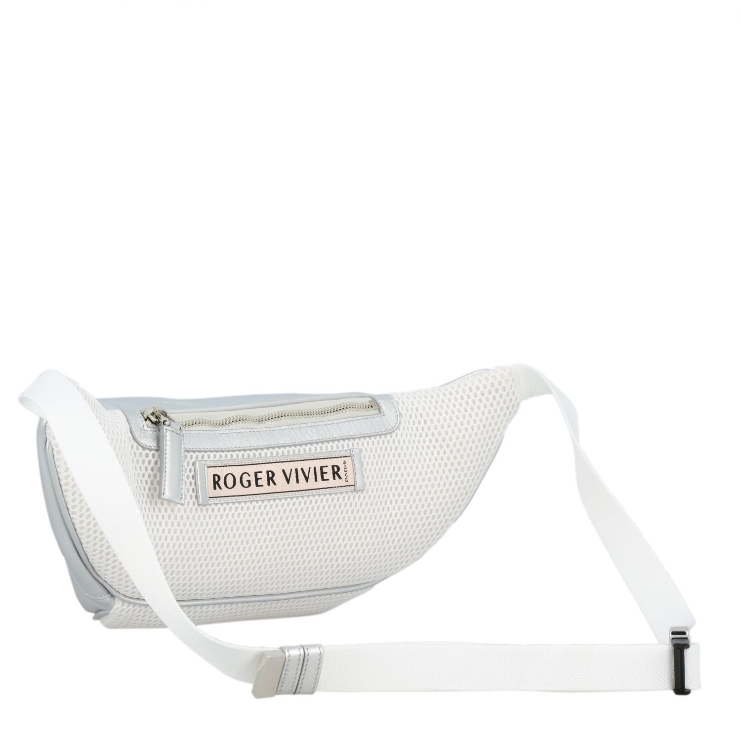 Shoulder bag women Roger Vivier silver 3
