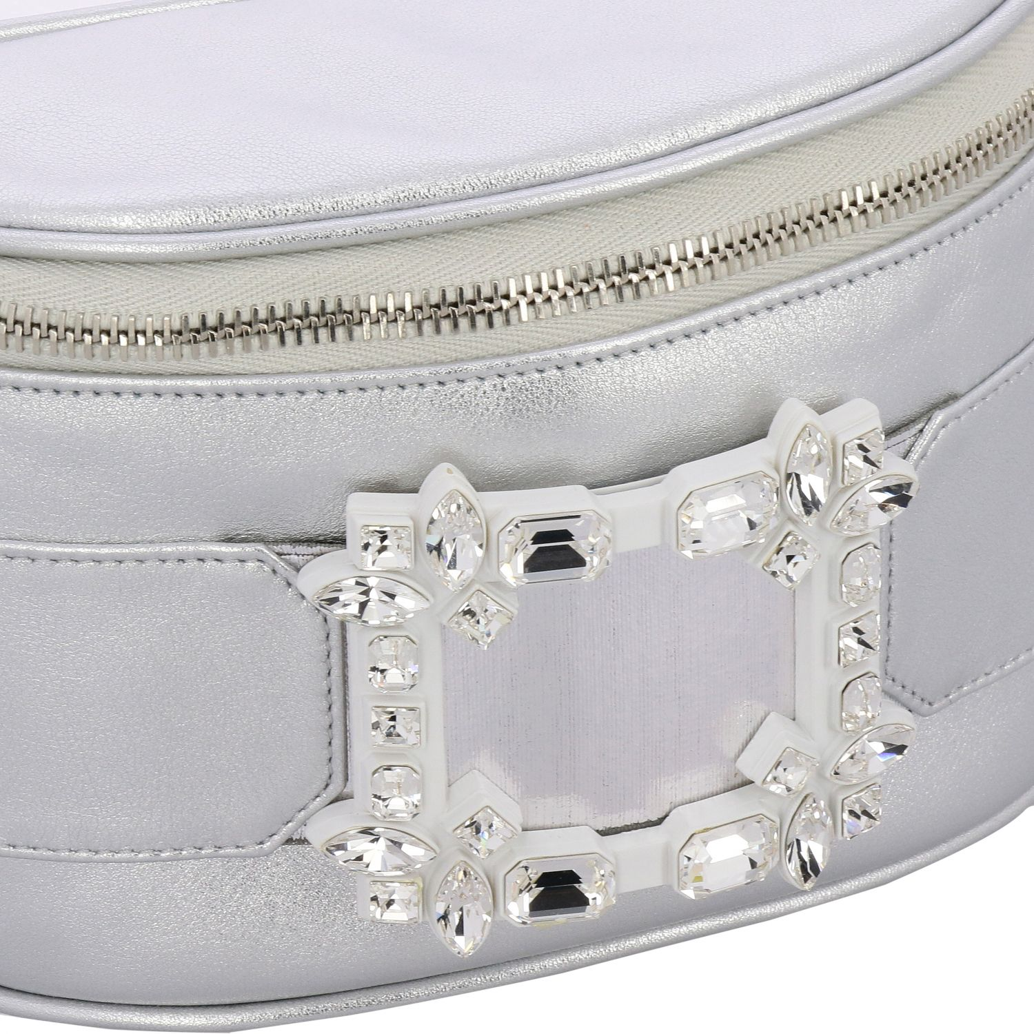 Shoulder bag women Roger Vivier silver 4