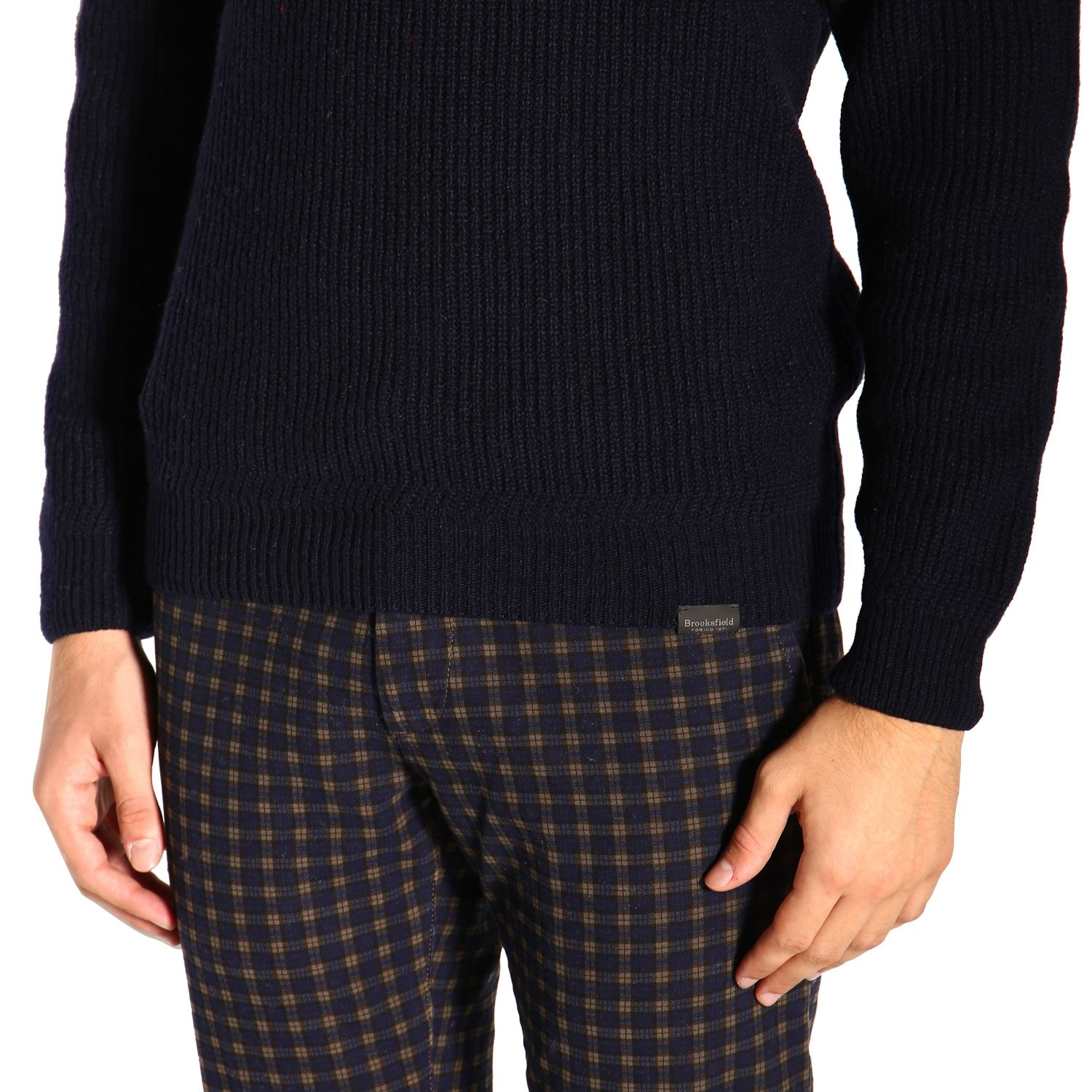 Sweater Brooksfield: Sweater men Brooksfield blue 5
