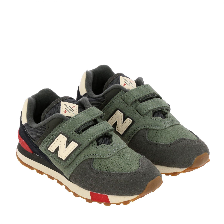 鞋履 儿童 New Balance 绿色 2