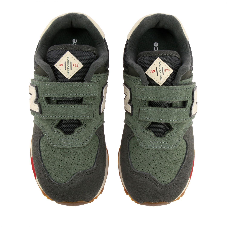 鞋履 儿童 New Balance 绿色 3