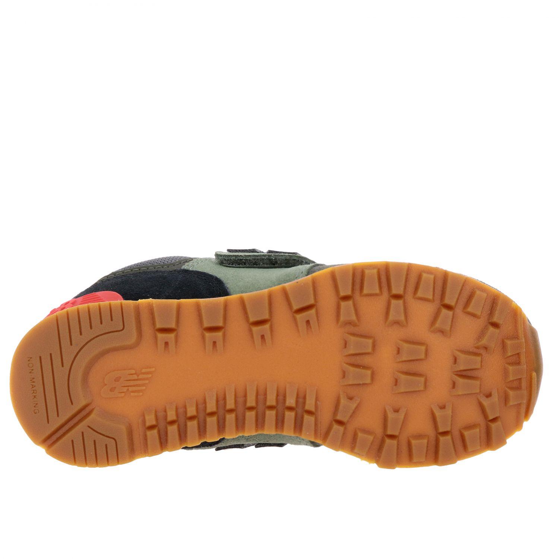 鞋履 儿童 New Balance 绿色 6