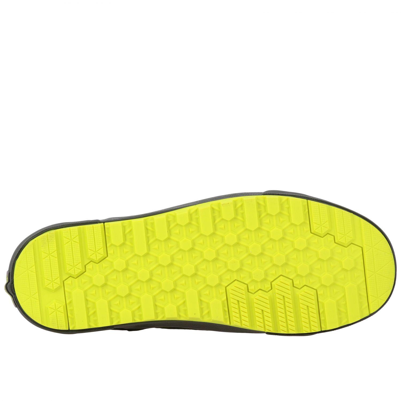 运动鞋 Vans: Vans Mte 360 sk8-hi 帆布绒面革荧光细节高帮运动鞋 军绿色 6