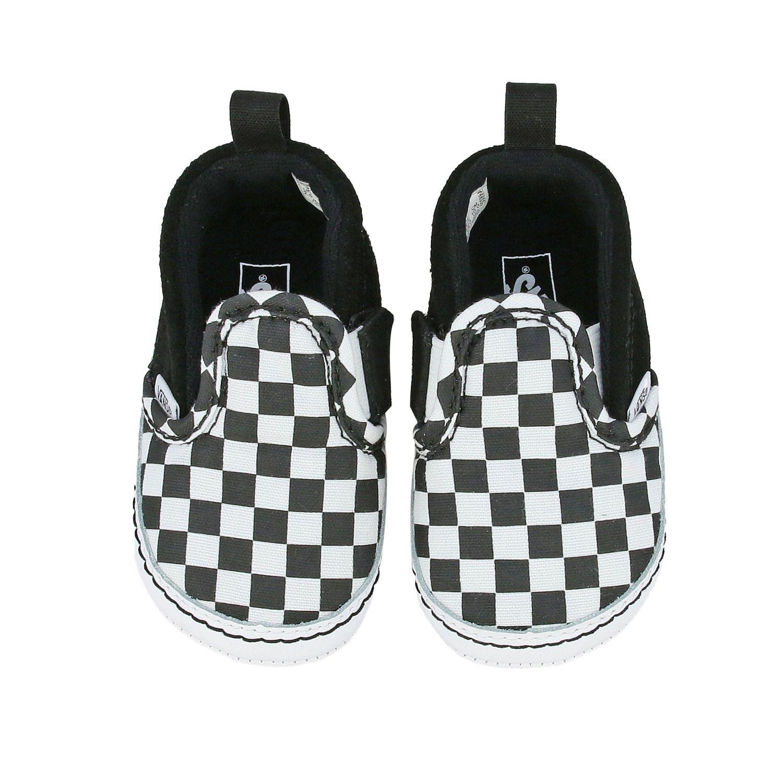 Slip on scacchi nero 3