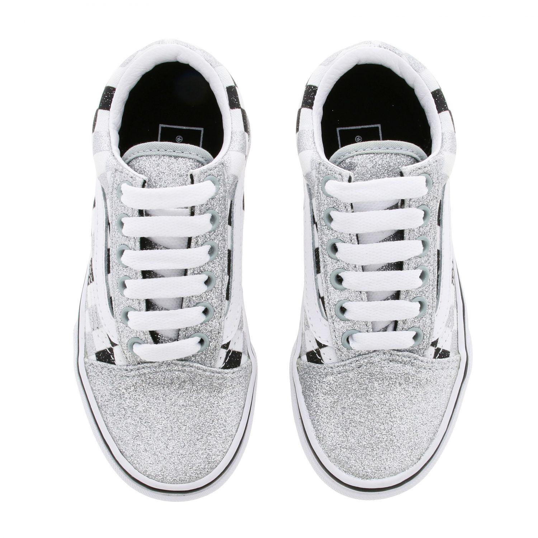 鞋履 儿童 Vans 银色 3