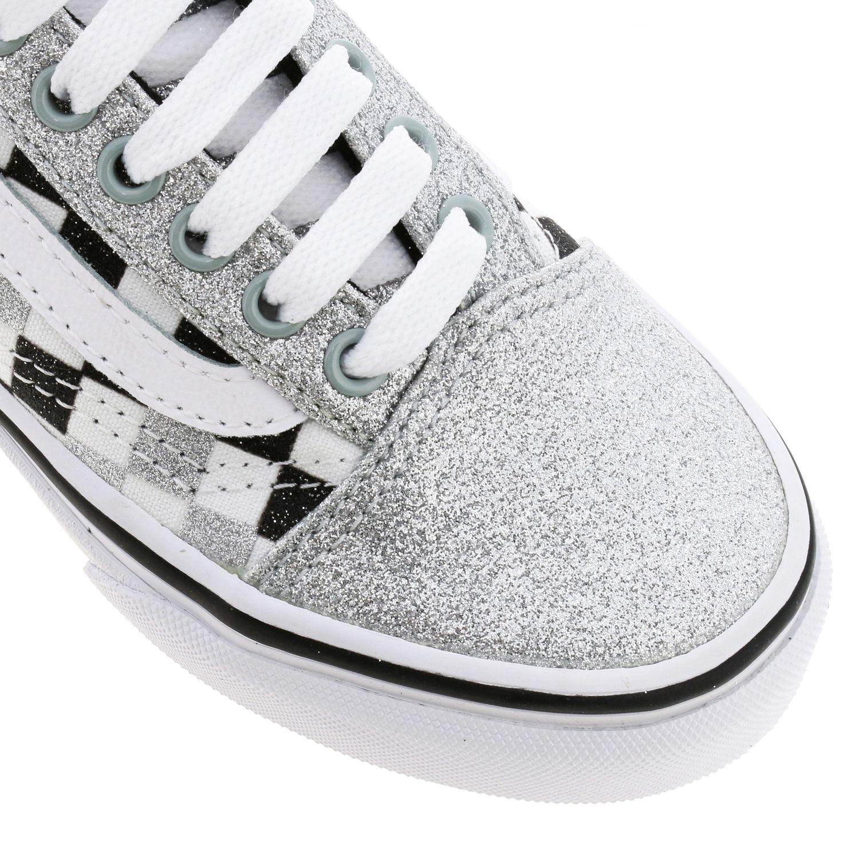 鞋履 儿童 Vans 银色 4