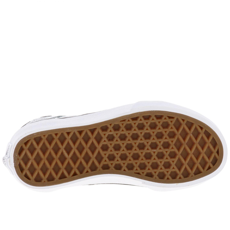 鞋履 儿童 Vans 银色 6