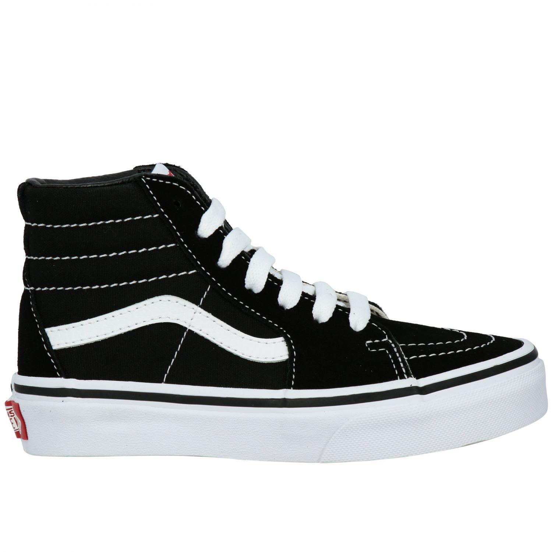 鞋履 儿童 Vans 黑色 1