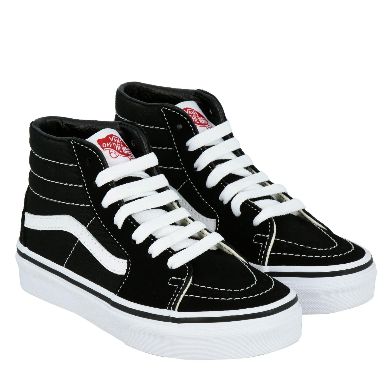 鞋履 儿童 Vans 黑色 2