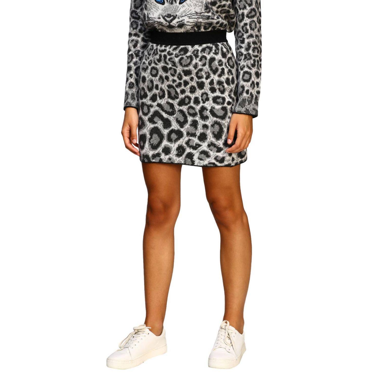 Skirt Alberta Ferretti: Skirt women Alberta Ferretti grey 4