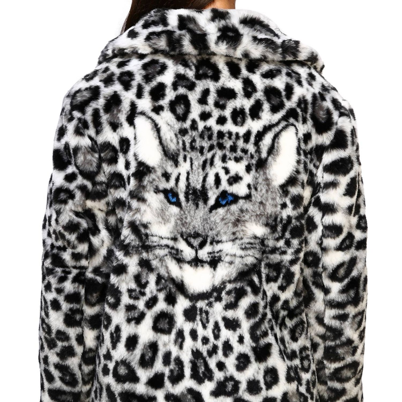 Fur coats Alberta Ferretti: Alberta Ferretti fur with animalier and lynx pattern grey 5