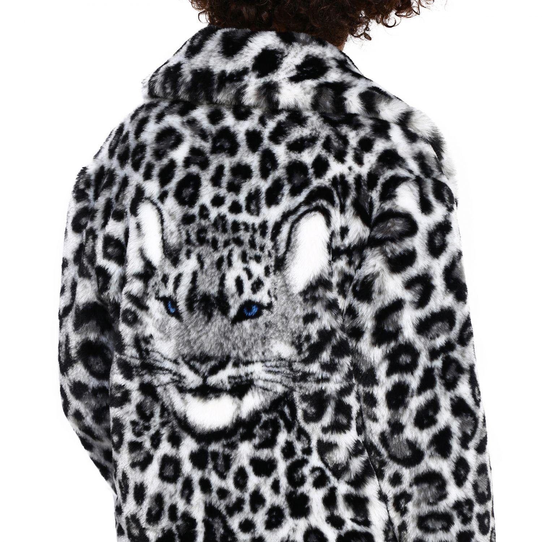 Fur coats Alberta Ferretti: Alberta Ferretti fur with animalier and lynx pattern black 5