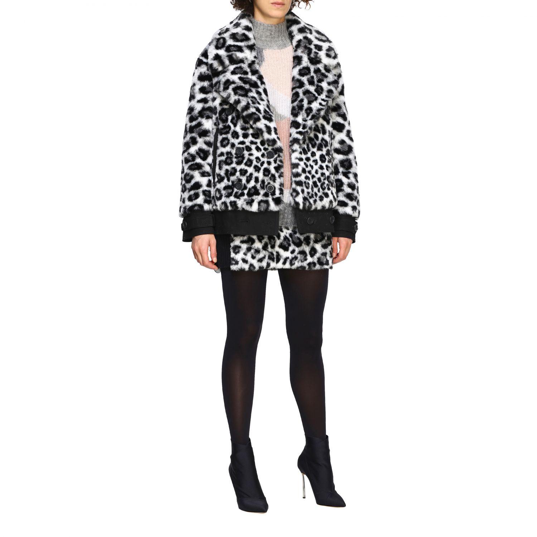 Maglia Alberta Ferretti: Pullover Alberta Ferretti in lana mohair a collo alto grigio 2