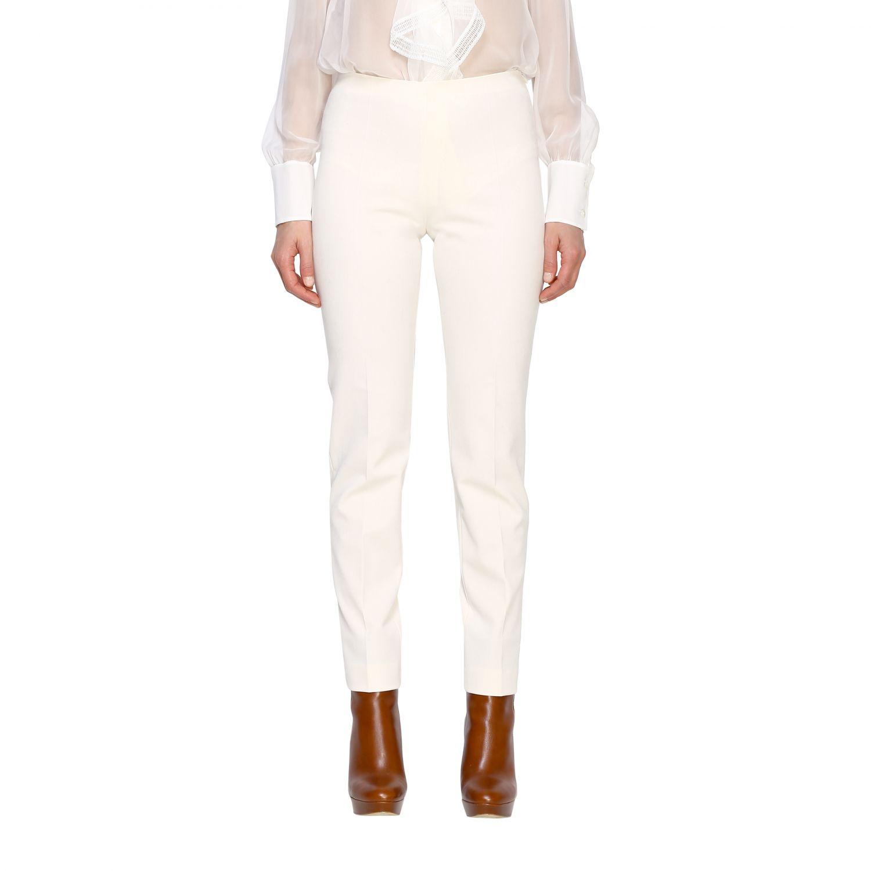 Trousers Alberta Ferretti: Trousers women Alberta Ferretti white 1