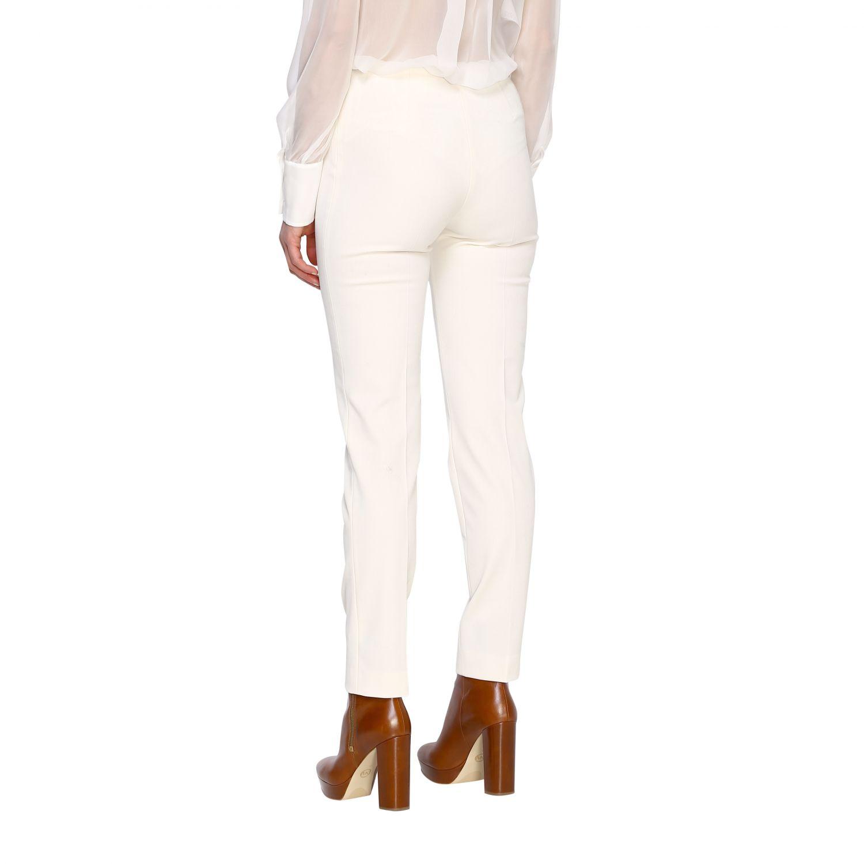 Trousers Alberta Ferretti: Trousers women Alberta Ferretti white 3
