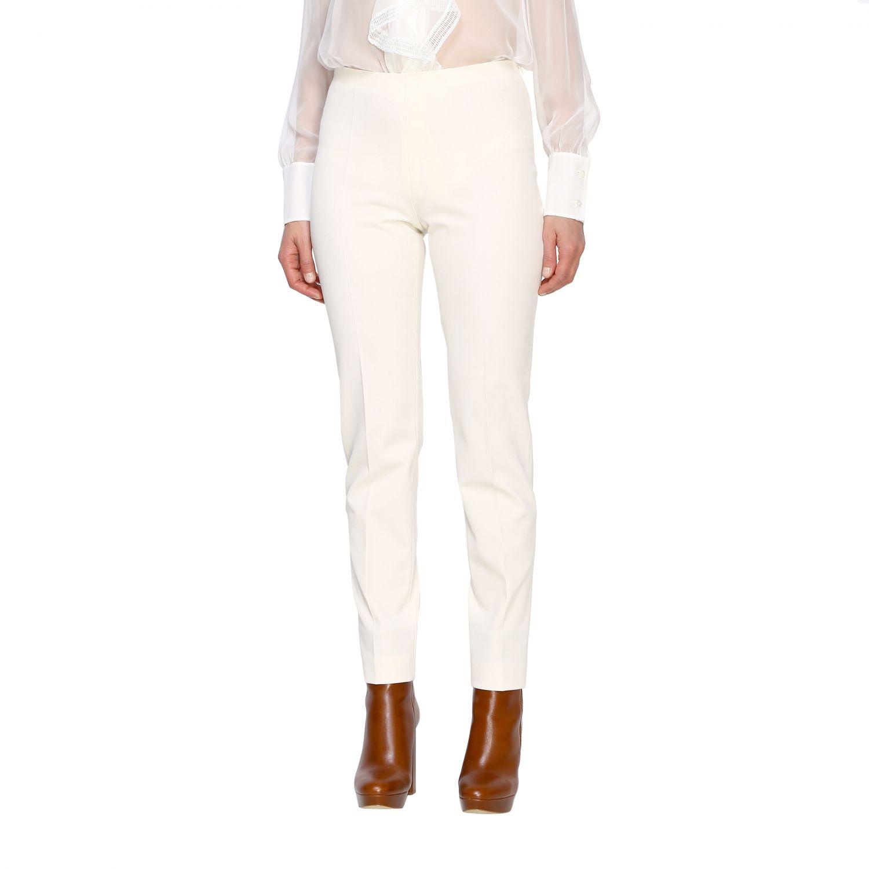Trousers Alberta Ferretti: Trousers women Alberta Ferretti white 4