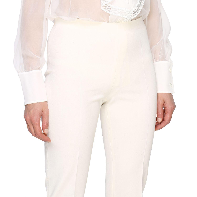 Trousers Alberta Ferretti: Trousers women Alberta Ferretti white 5