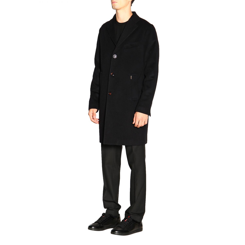 Пальто Palto': Пальто Мужское Palto' черный 4