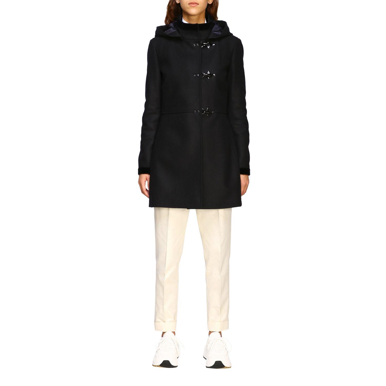 Coat Fay: Coat women Fay black 1