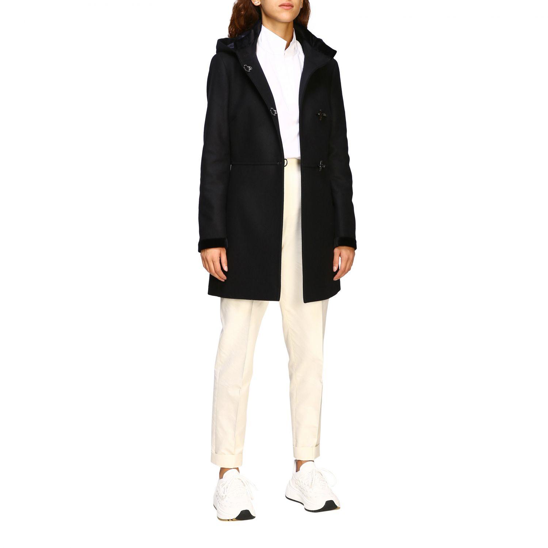 Coat Fay: Coat women Fay black 2