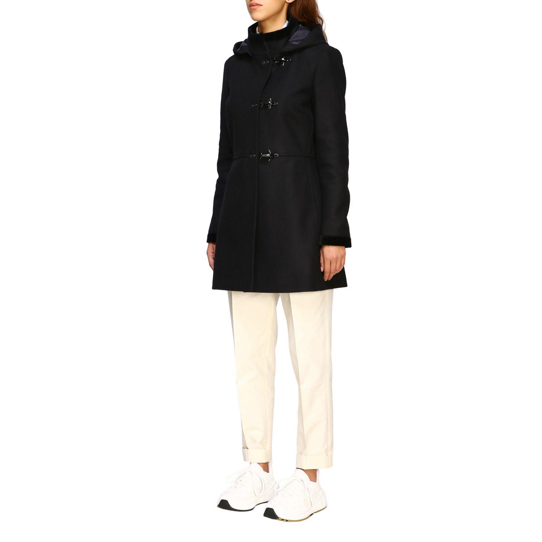 Coat Fay: Coat women Fay black 4
